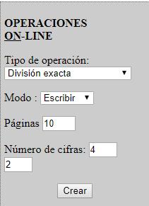 OPERACIONES ON_LINE