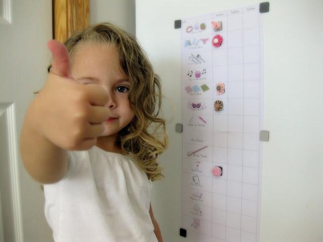 preschooler's picture chore chart