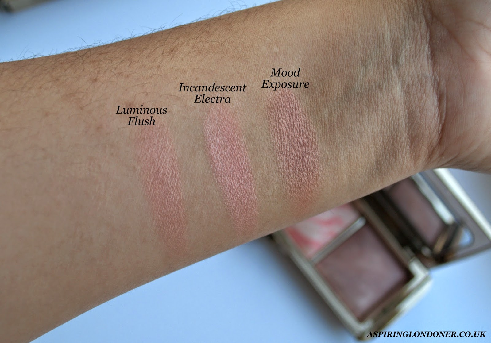 Hourglass Ambient Lighting Blush Palette Review+Swatch - Aspiring Londoner