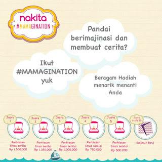 Info Kontes - Kontes Cerita #Mamagination Berhadiah 5 Perhiasan Emas dan 5 Selimut Bayi
