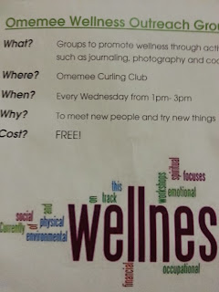 Free Omemee Wellness Group Poster