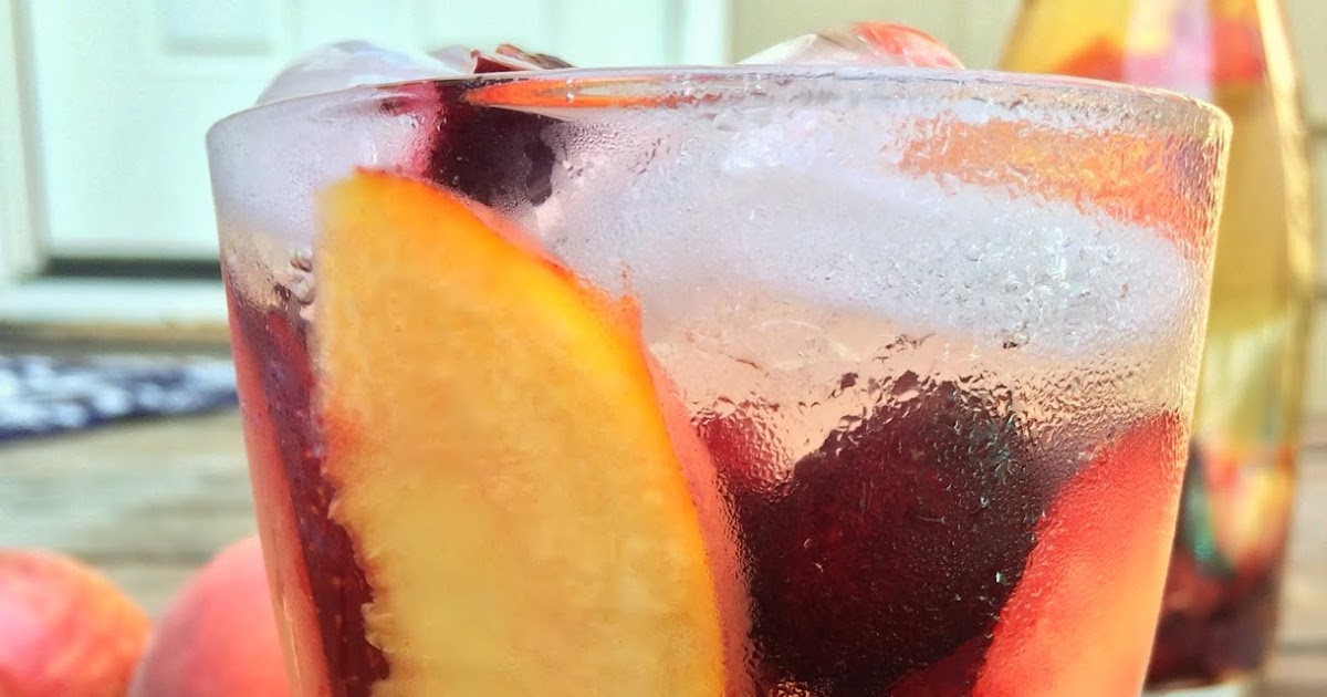 The Walsh Cookbook: Stone Fruit Sangria - Caity