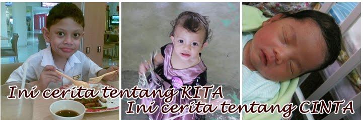 Intanaziela a.k.a Mama Hadif Khawarizmi, Raisa Khadija & Ahmad Muhammad Kauthar