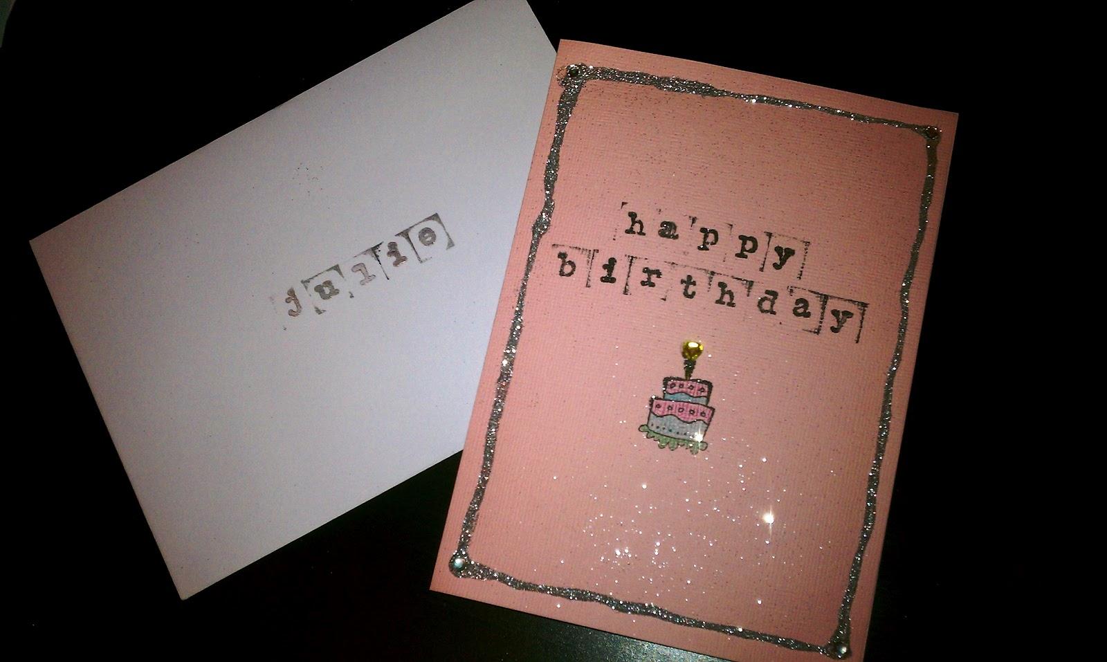 Homemade Birthday Cards Boyfriend