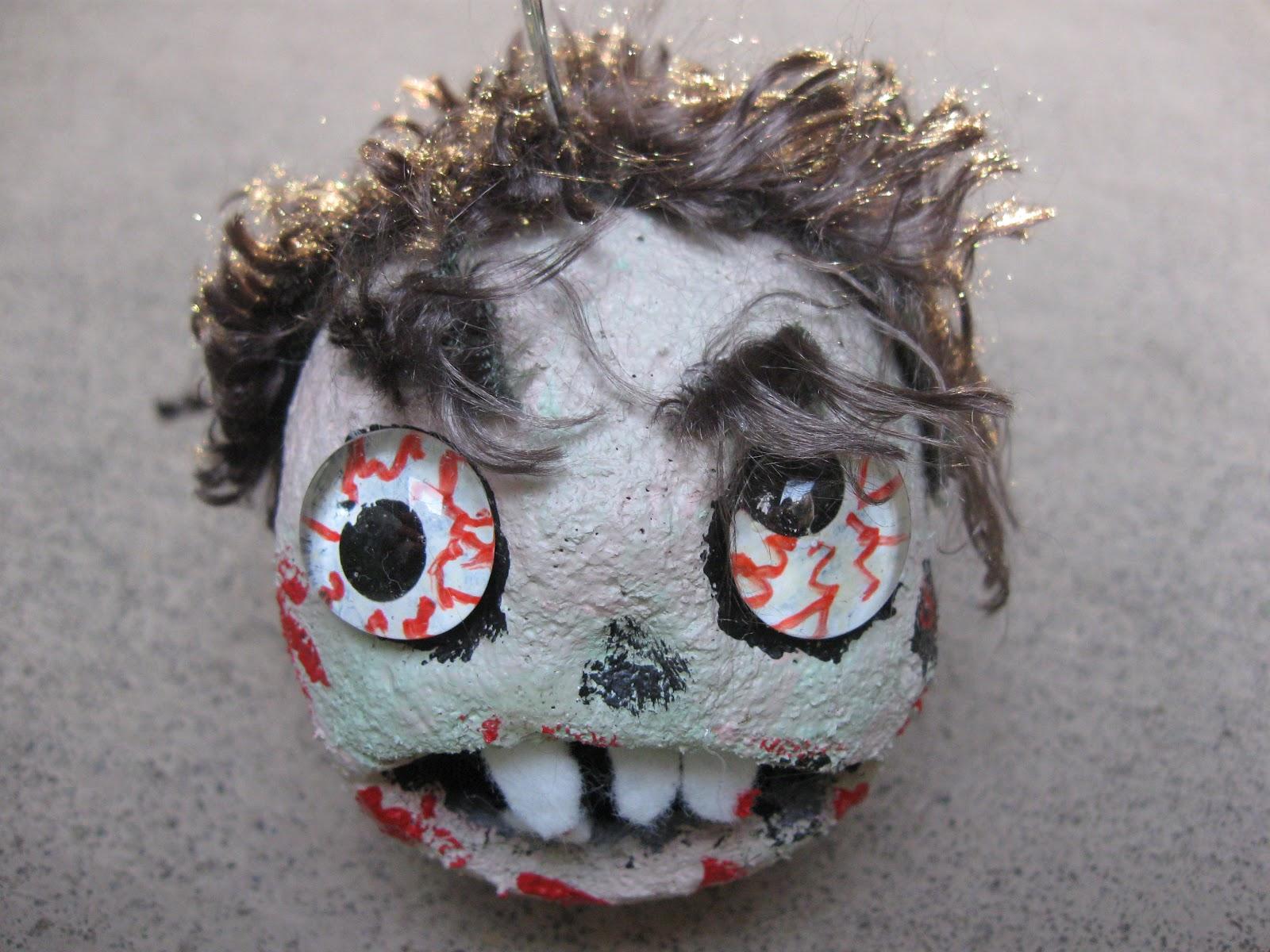 craft klatch zombie craft tutorial great for halloween