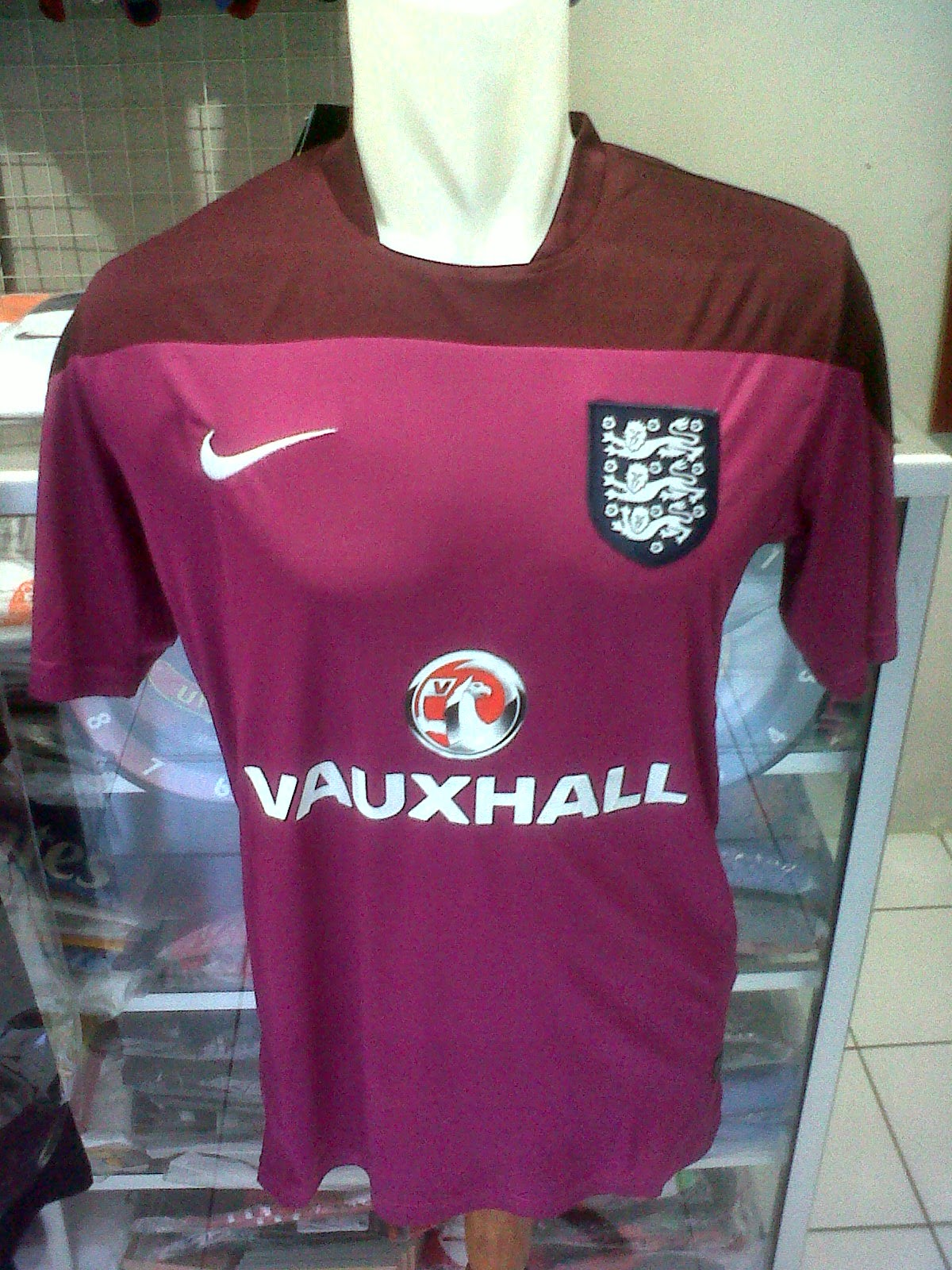 Jersey Training England 2014/2016 model 1