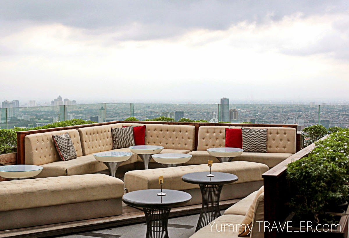 Cloud Living Room Jakarta the yummy traveler: jakarta : food tasting : cloud lounge and