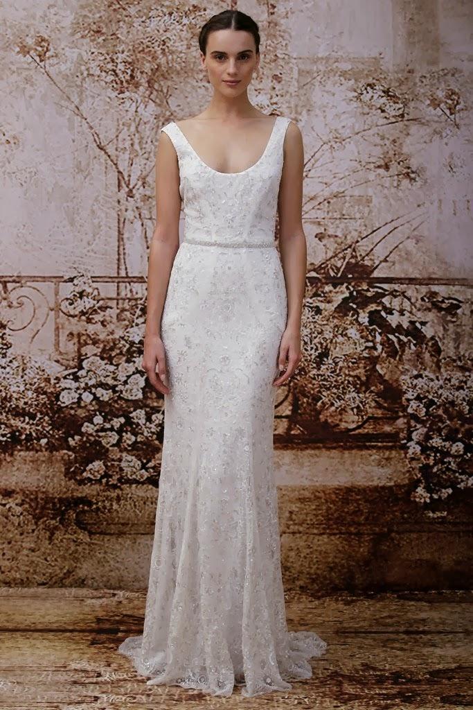 Monique Lhuillier 2014 Fall Bridal Collection