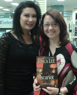 Author Tosca Lee and I