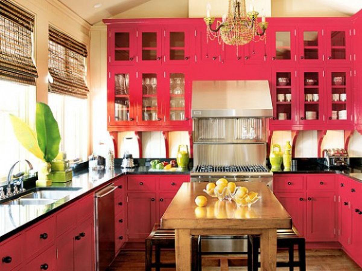 Innovative Pink Kitchen Cabinet