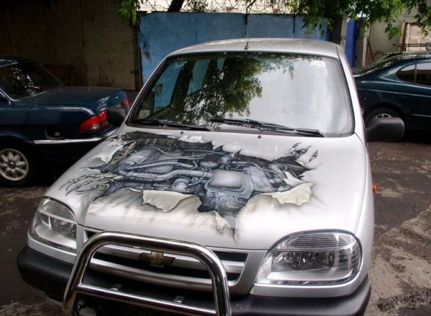 Beautiful painting ideas on cars for Car paint designs pictures