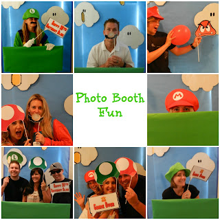 Mario Brothers Photo Booth