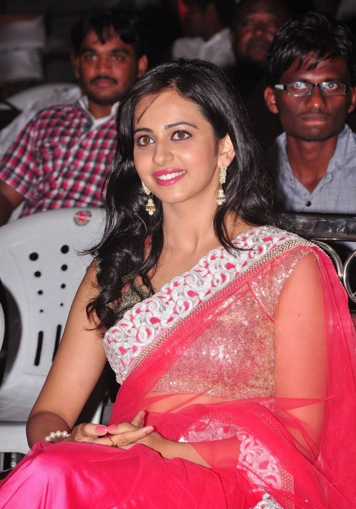 SEO TAGS : Rakul Preet Singh :Rakul Preet Singh hot huge cleavage belly visible pics hot clevage exposed of rakul preet singh in pink saree without clothes bra panty