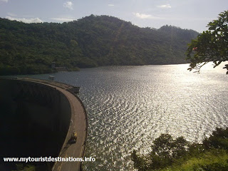 Photos of Victoria Dam in Sri Lanka