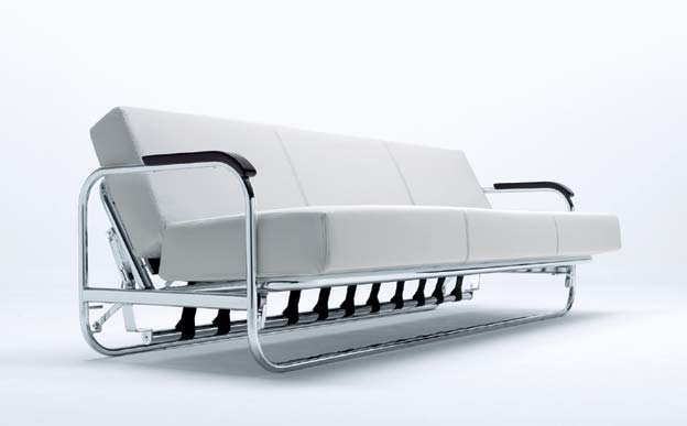 This AA1 Bauhaus Sofa Bed Designed By Alavar Aalto ATELIER. The Design  Studio Is Working Since 1939 And Is Located In Italy. The Materials Used  For Making ...
