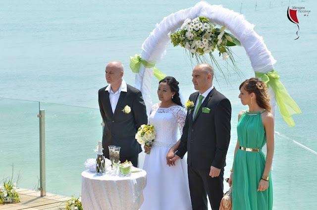 сватбена церемони в Балчик