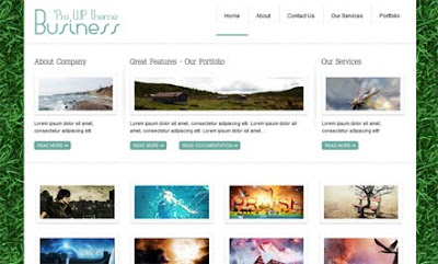 BusinessPro WordPress Theme