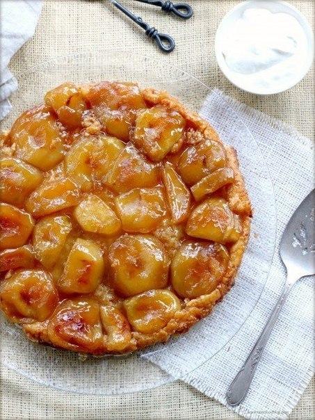 Тартатен с яблоками рецепт с фото