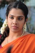 Sandhya new photos in half saree-thumbnail-3