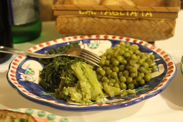 Vegetables at La Tagliata, Positano, Italy