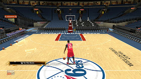 NBA 2K13 Realistic Floors Mod Download