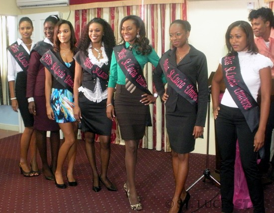 miss saint lucia universe 2011 candidates