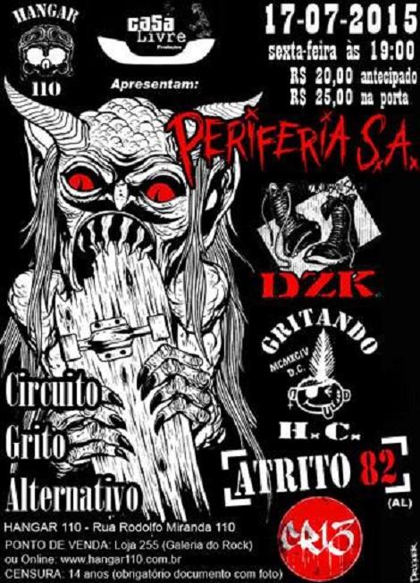 17-07-2015 - CIRCUITO GRITO ALTERNATIVO - São Paulo - SP