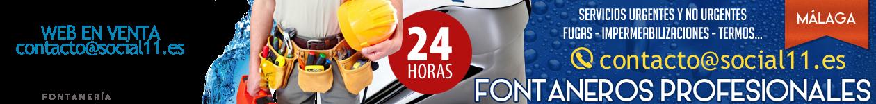 Fontaneros en Torremolinos - WEB EN VENTA - contacto@social11.es