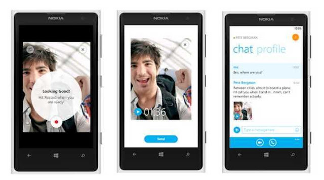 Skype Free Unlimited Video Messaging on Windows Phone 8 with Skype 2.10