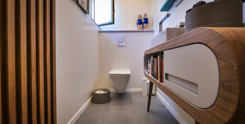 Bathroom designed by Hila Hollander