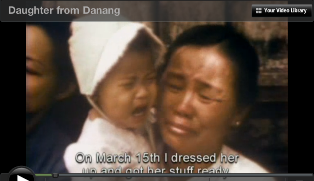 essay about documentary daughter from danang