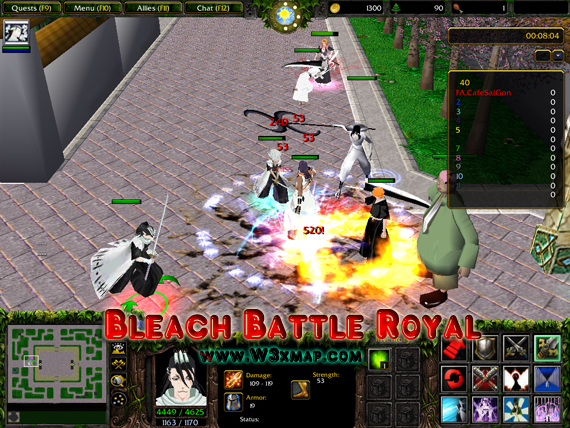 Bleach Battle Royal V5.8.w3x