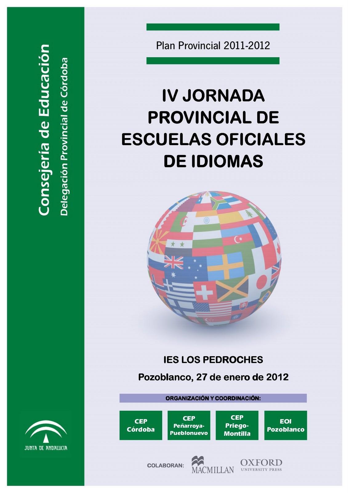 Cartel escuela idiomas - Escuela oficial de idiomas inca ...