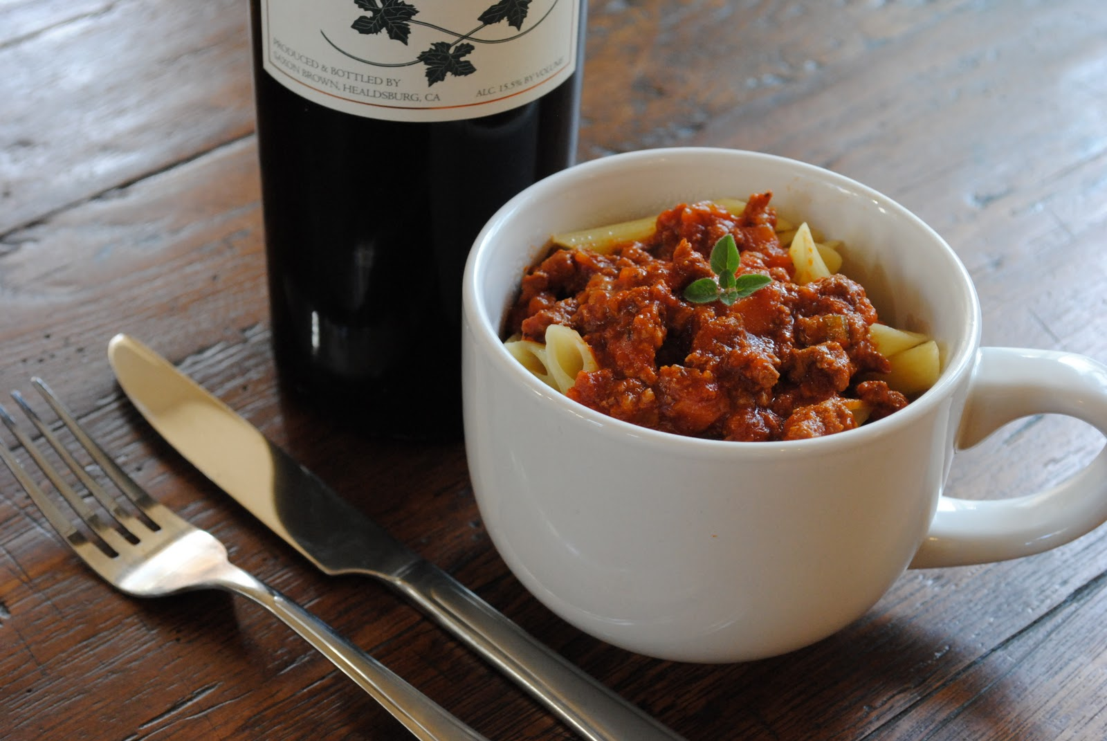 Pot - Penne with Bolognese Sauce | Virtually Homemade: Retro Crock-Pot ...
