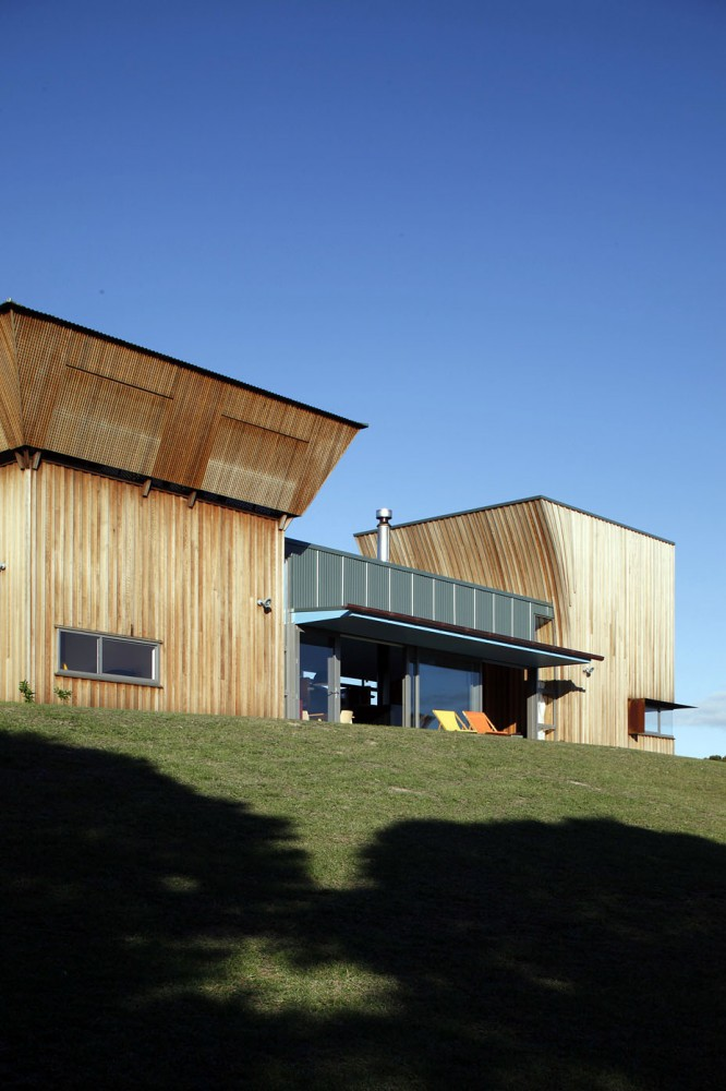 Holiday and weekend house new zealand most beautiful for Beautiful modern houses in the world