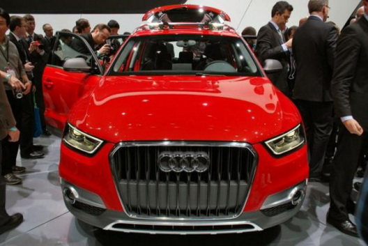 New 2012 Audi Q3 Vail Concept Compact Suv New Car Pictures