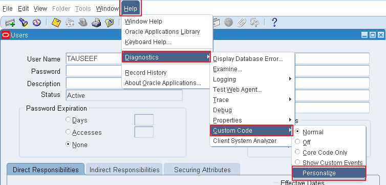 OracleAppsnFusion: Understanding Oracle Apps Form Personalization