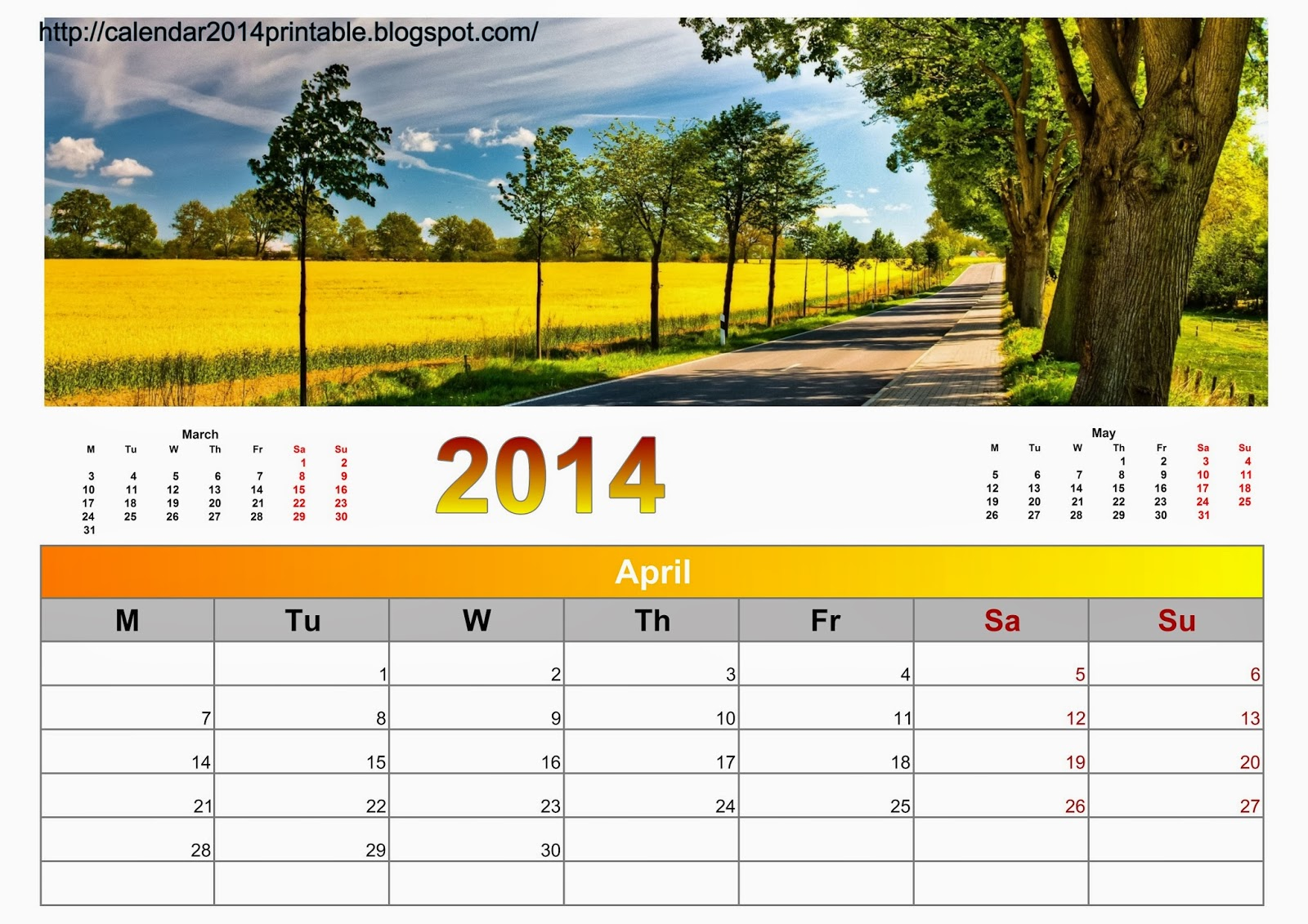 Nature S Calendar Wallpaper : Calendar nature with wallpapers free printable