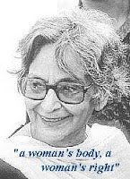 Amrita Pritam, Feminism, a woman's body, a woman's right, punjabi literature