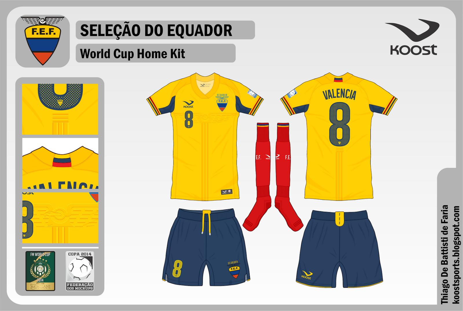 Resultado de imagem para Seleção do Equador