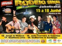 Rodeio Show Jaboticabal 2011 - Agenda de Shows