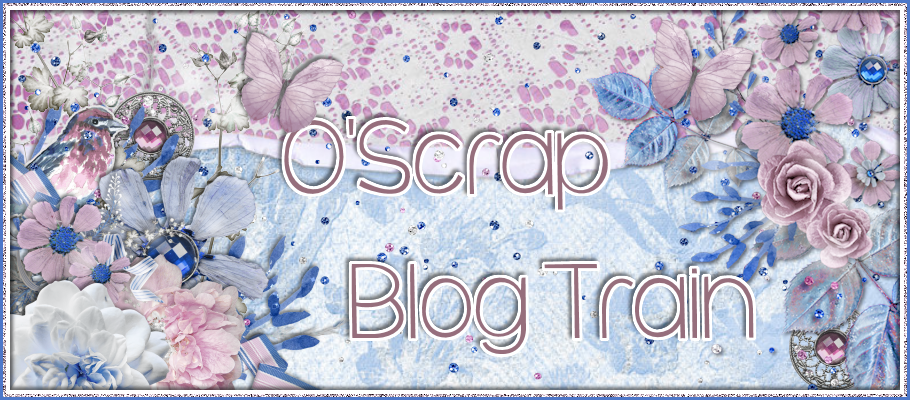 O'Scrap Blog Train