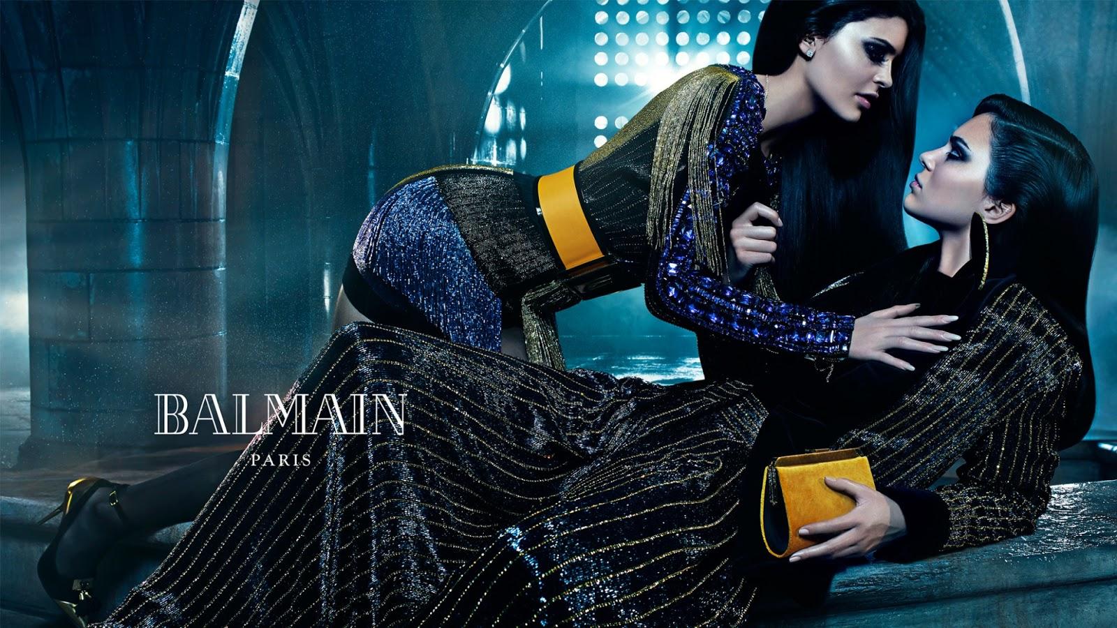Balmain Ads Campaign 2015