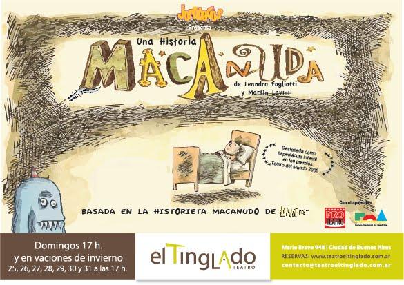 UNA HISTORIA MACANUDA - Grupo Jorobados