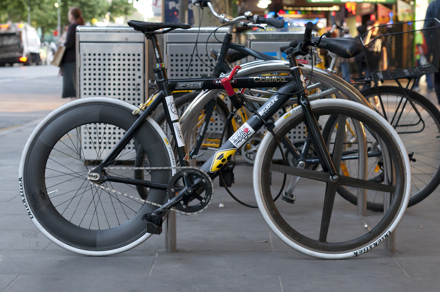 The Biketorialist: Strada Pro Model, Fixed Speed, Swanston St, Melbourne