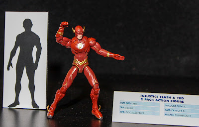 """DC Collectibles Injustice 3.75"""" The Flash & TBA 2-Pack"""
