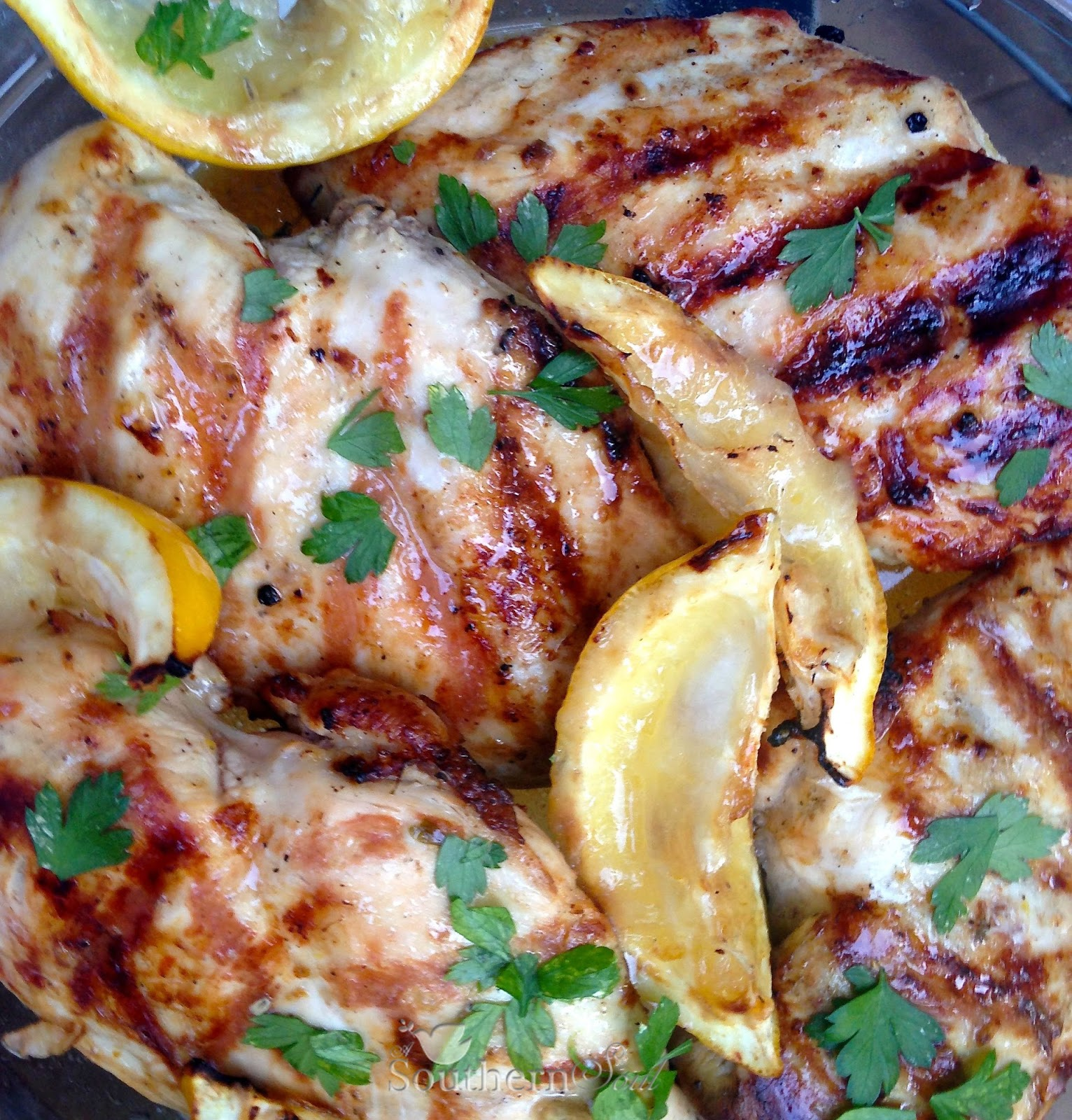 Southern Soul: Grilled Lemon Chicken