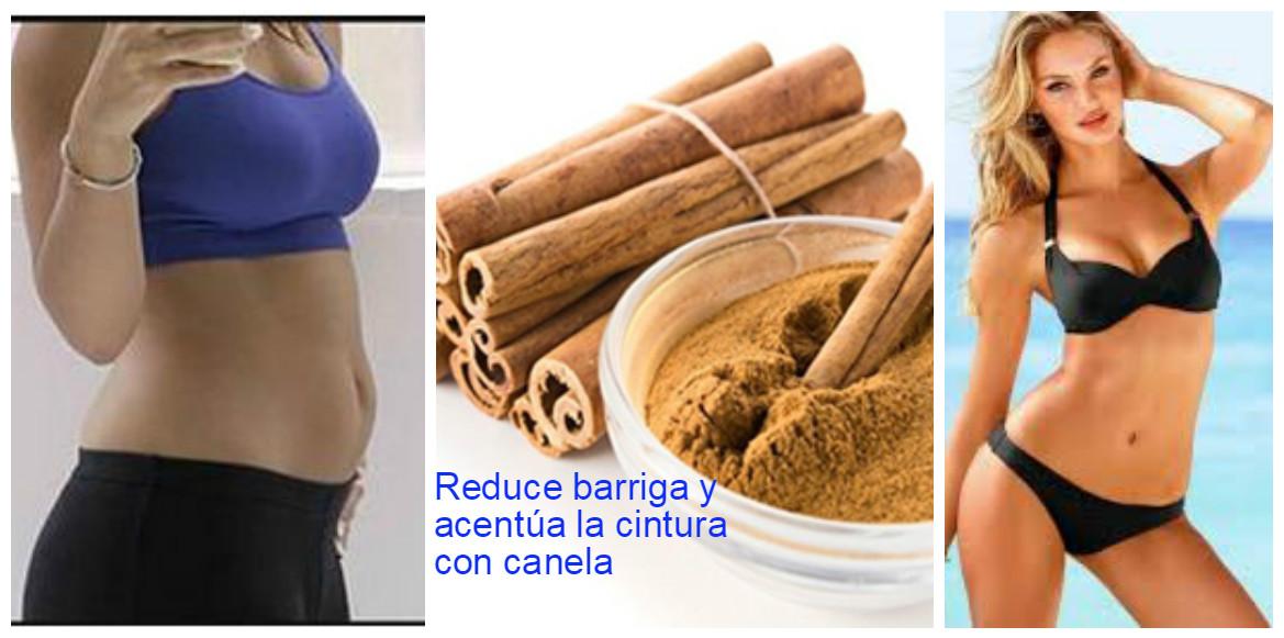 Cómo reducir la barriga y marcar la cintura con canela