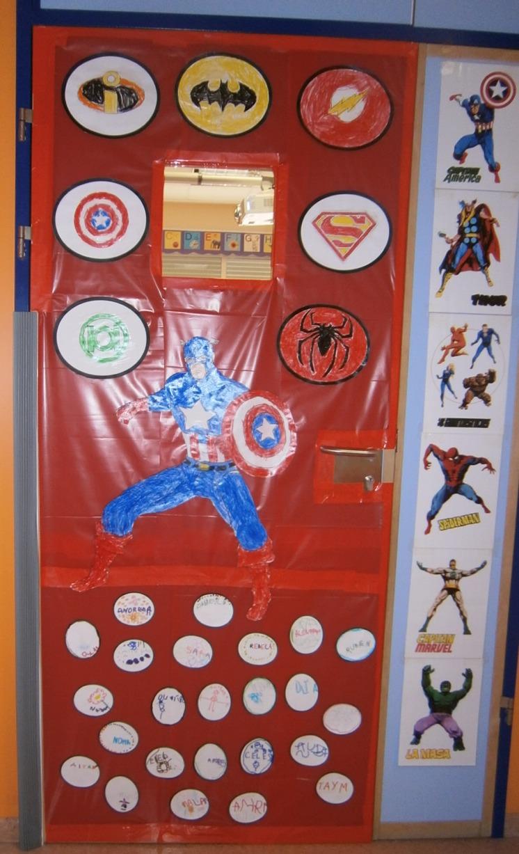 La clase de miren mis experiencias en el aula as ha for Puertas decoradas para regreso a clases