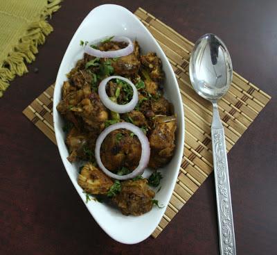 Cooking 4 all Seasons: Chicken Varuval | Spicy Chicken Roast